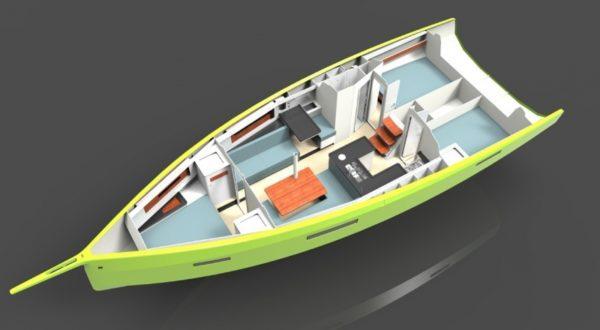 Plan 3D Caribbean Dandy