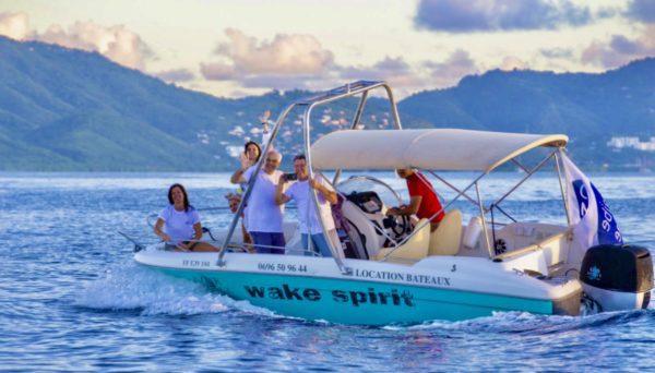 Touristes Flyer Wake Spirit babord