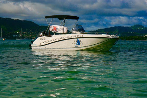Quicksilver tribord avec rangement wakeboard